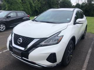 New 2019 Nissan Murano SV AWD CVT for sale in St. Catharines, ON