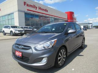 Used 2017 Hyundai Accent SE, MOONROOF, HEATED SEATS for sale in Brampton, ON