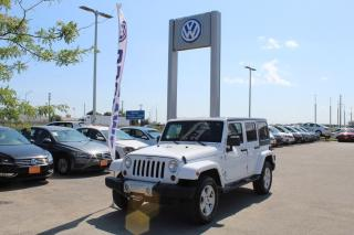 Used 2012 Jeep Wrangler Unlimited Sahara for sale in Whitby, ON