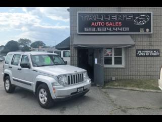 Used 2012 Jeep Liberty Sport for sale in Kingston, ON