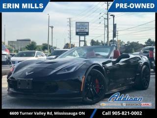 Used 2019 Chevrolet Corvette Grand Sport Convertible  NAVI|Z07 PKG|CERAMIC COATED| for sale in Mississauga, ON
