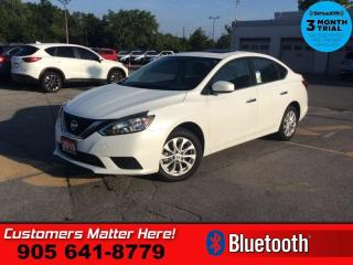 Used 2019 Nissan Sentra SV CVT  CAM HS BLUETOOTH ALLOYS for sale in St. Catharines, ON