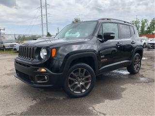 Used 2016 Jeep Renegade 2016 Jeep Renegade - 4WD 4dr 75th Anniversary for sale in St Catharines, ON