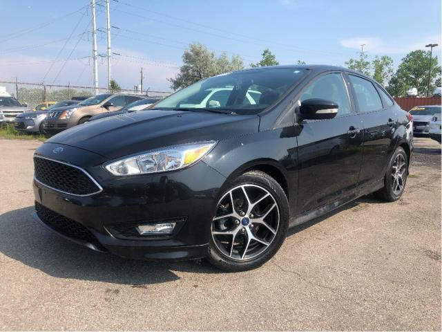 2015 Ford Focus SE| Bluetooth | B/Up Camera| Auto| Alloys|