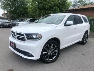 Used 2018 Dodge Durango GT| AWD| Navigation| ParkSense|Bluetooth for sale in St Catharines, ON