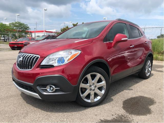 2016 Buick Encore Premium| Sunroof| Leather| Nav| BOSE