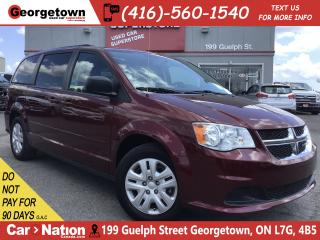Used 2017 Dodge Grand Caravan SXT | FULL STO'N'GO | REAR DVD | BU CAM| REAR A/C for sale in Georgetown, ON