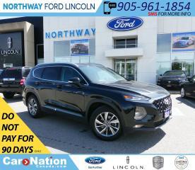 Used 2019 Hyundai Santa Fe Preferred | AWD | HTD SEATS+WHEEL | BACKUP CAM | for sale in Brantford, ON