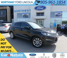 Used 2016 Lincoln MKC Select | AWD | NAV | HTD LEATHER | PWR LIFTGATE | for sale in Brantford, ON