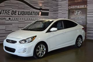 Used 2014 Hyundai Accent GLS+TOIT+MAGS+AIR+GR ELECTRIQUE for sale in Laval, QC