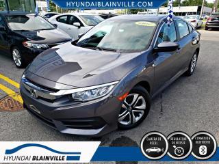 Used 2017 Honda Civic 4dr LX CAMÉRA DE RECUL,BLUETOOTH for sale in Blainville, QC
