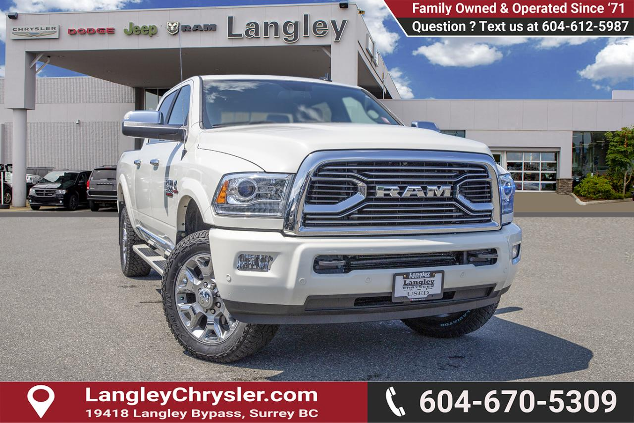 Used 2018 RAM 3500 Longhorn - Navigation - Leather Seats for
