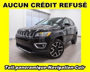 Used 2018 Jeep Compass LIMITED 4X4 TOIT PANORAMIQUE CUIR NAV *BAS KM* for sale in Mirabel, QC