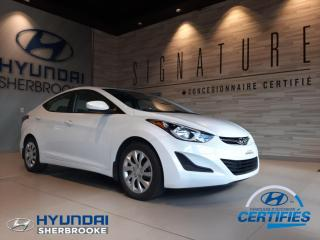 Used 2015 Hyundai Elantra GL+A/C+DEMARREUR+BANCS CHAUFF+BLUETOOTH for sale in Sherbrooke, QC