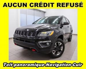 Used 2018 Jeep Compass TRAILHAWK 4X4 TOIT PANO CUIR NAV *BAS KM* for sale in Mirabel, QC