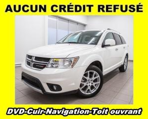 Used 2018 Dodge Journey GT AWD 7 PLACES DVD NAV CUIR TOIT OUVRANT MAG 19 P for sale in Mirabel, QC