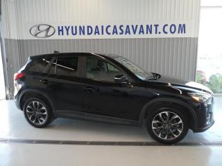 Used 2016 Mazda CX-5 GT AWD GPS CUIR TOIT OUVRANT for sale in St-Hyacinthe, QC