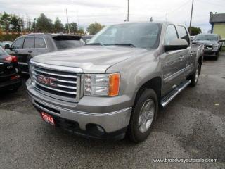 Used 2012 GMC Sierra 1500 WORK READY SLE-ALL-TERRAIN-Z71 MODEL 5 PASSENGER 5.3L - V8.. 4X4.. CREW-CAB.. SHORTY.. TOW SUPPORT.. POWER FOLDING MIRRORS.. KEYLESS ENTRY.. for sale in Bradford, ON