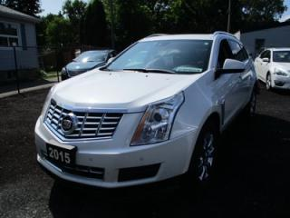 Used 2015 Cadillac SRX LOADED ALL-WHEEL DRIVE MODEL 5 PASSENGER 3.6L - V6.. LEATHER.. HEATED SEATS.. POWER SUNROOF.. BLUETOOTH... for sale in Bradford, ON