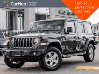 New 2019 Jeep Wrangler Unlimited Sport 4x4 Cold Weather Grp Tech Grp Freedom Top for sale in Thornhill, ON