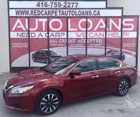 Used 2018 Nissan Altima 2.5 SV SV-ALL CREDIT APPROVED for sale in Scarborough, ON