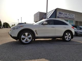 Used 2011 Infiniti FX35 ACCIDENT FREE|360 CAM|NAV|AC SEATS|PREMIUM PKG|SUNROOF|PUSH START|ALLOYS for sale in Concord, ON