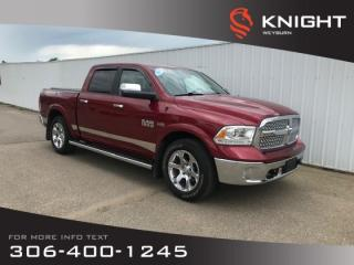 Used 2015 RAM 1500 Laramie Crew Cab 4x4 | Leather Seats | NAV | Trailer Tow Group | RamBox | Heated Seats/Steering for sale in Weyburn, SK