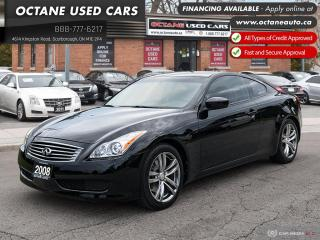 Used 2008 Infiniti G37 Premium Accident-Free! Fully Loaded! for sale in Scarborough, ON