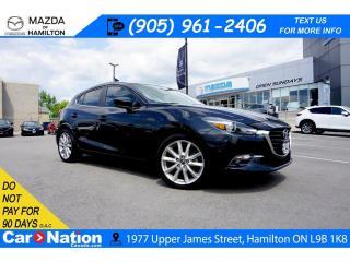 Used 2018 Mazda MAZDA3 GT | NAV | REAR CAM | 6 SPEED | HEATED SEATS for sale in Hamilton, ON