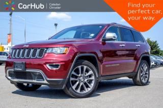 Used 2018 Jeep Grand Cherokee Limited|4x4|Sunroof|Backup Cam|Bluetooth|R-Start|Leather|Heated Seats|18