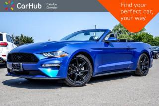 Used 2018 Ford Mustang EcoBoost Premium|Pwr Top|Navi|Backup Cam|Bluetooth|R-Start|Leather|Heated Front Seats|17