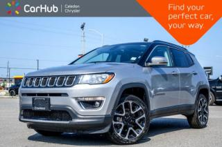 Used 2018 Jeep Compass Limited 4x4|Navi|Pano Sunroof|Bluetooth|Backup Cam|R-Start|Leather|Heated Front Seats|18