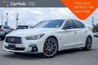 Used 2018 Infiniti Q50 RED SPORT|AWD|Navi|Sunroof|Backup Cam|Bluetooth|Heated Front sEats|19