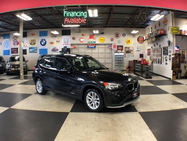 2015 BMW X1 XDRIVE AUT0 AWD LEATHER PANO/ROOF P/SEAT 111K
