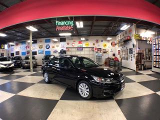 Used 2015 Honda Accord Sedan EX-L AUT0 LEATHER SUNROOF BACKUP CAMERA 64K for sale in North York, ON