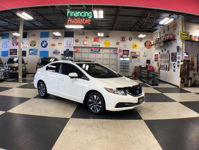 2014 Honda Civic Sedan EX AUT0 A/C SUNROOF BACKUP CAMERA 116K