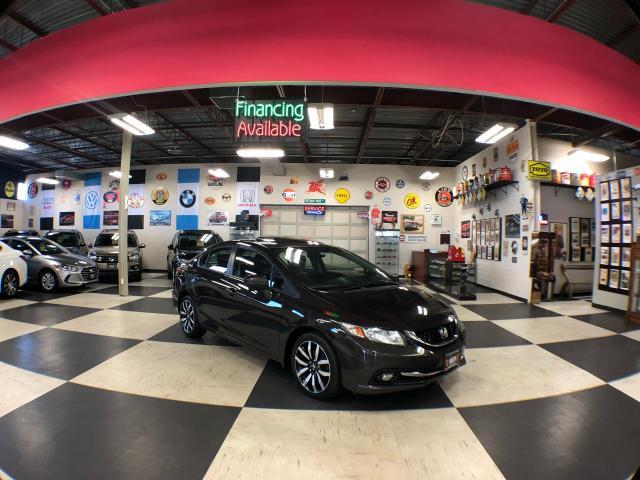 2014 Honda Civic Sedan TOURING AUT0 NAVI LEATHER SUNROOF CAMERA 101K