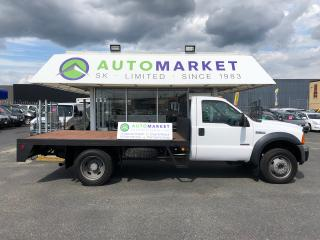Used 2006 Ford F-450 Reg Cab FLATDECK FREE BCAA! VERY NICE! 12FT. DECK for sale in Langley, BC