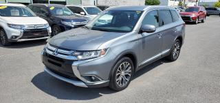 Used 2016 Mitsubishi Outlander GT V6 AWD |7 PASSAGERS|GPS|CUIR|TOIT|CAM|MAGS 18'' for sale in St-Hubert, QC