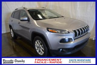 Used 2017 Jeep Cherokee North Latitude  +V6, Hitch, Aucun Carfax+ for sale in Cowansville, QC