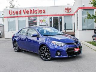Used 2014 Toyota Corolla S   Manual   Bckp Cam   Htd Seats for sale in North York, ON