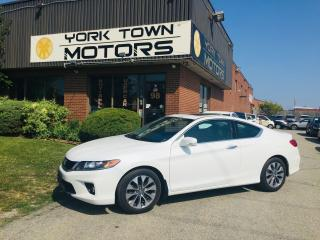 Used 2015 Honda Accord EX-L W/NAVI/Auto/Leather/B.SpotCam-BackCam for sale in North York, ON