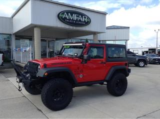 Used 2015 Jeep Wrangler LIFTED / AUTO / CUSTOM BUMPERS / for sale in Tilbury, ON