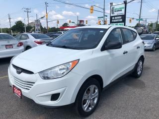 Used 2012 Hyundai Tucson USB l  5 Speed l AC for sale in Waterloo, ON
