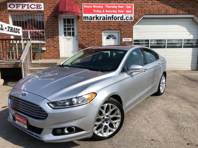 2013 Ford Fusion Titanium AWD Pano Roof Navigation Back Up Cam