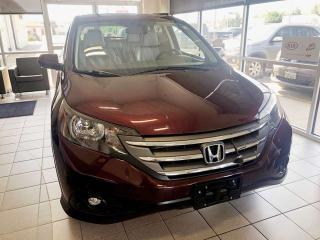 Used 2013 Honda CR-V EX-L for sale in Brandon, MB