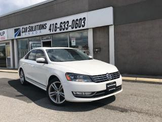 Used 2014 Volkswagen Passat HIGHLINE-NAVI-SNROOF-LEATHER for sale in Toronto, ON