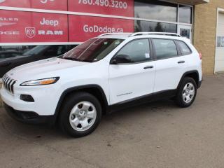 Used 2017 Jeep Cherokee Sport / Heated Front Seats / Heated Steering Wheel for sale in Edmonton, AB