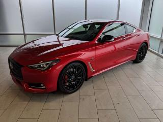 New 2019 Infiniti Q60 I-LINE RED SPORT for sale in Edmonton, AB