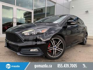 Used 2016 Ford Focus ST LEATHER NAVIGATION FUN CAR GREAT EYEBALL for sale in Edmonton, AB